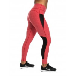Training legging dark pink for women - NORTHERN SPIRIT