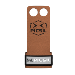 2 holes Brown Grips RAVEN - PICSIL