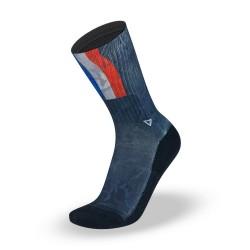 Chaussettes  Multicolore France  pour athlète by LITHE APPAREL