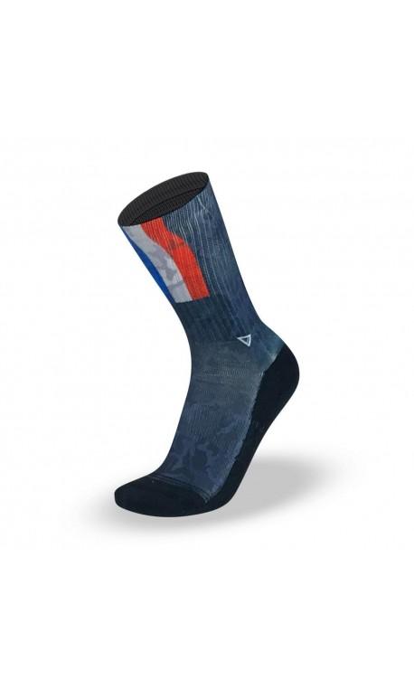 Chaussettes  Multicolore France  pour athlète by LITHE