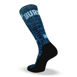 Blue workout Socks CROSS IT DOUBLE UNDERS – LITHE APPAREL