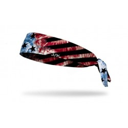 Bandeau à nouer Multicolore AMERICAN BAND pour athlète by JUNK