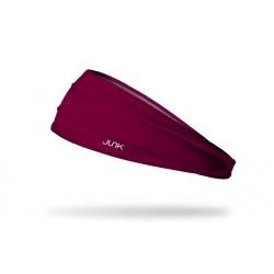 Red workout elastic headband MAROON 222 - JUNK