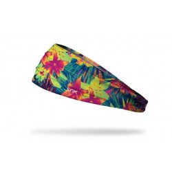 Multicolor workout elastic headband AMAZON SAMBA - JUNK