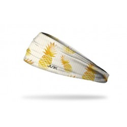 Bandeau BLANC GOLDEN ONE - ANANAS pour athlète by JUNK