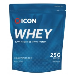 Protéines  MOLTEN CHOCOLATE  - 2270 Gr  WHEY ICON