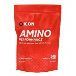 Acides Aminés  FRUIT PUNCH - 360 Gr AMINO PERFORMANCE  pour athlète by ICON