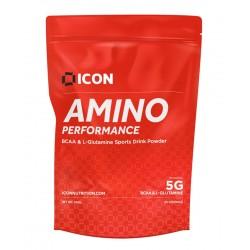 Acides Aminés gout FRUIT PUNCH - 360 Gr AMINO PERFORMANCE  pour athlète by ICON