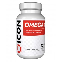 OMEGA 3  120 CAPSULES   pour athlète by ICON