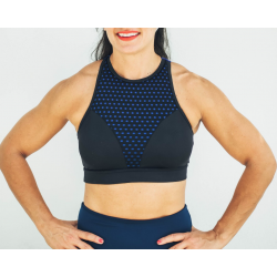 Training bra black THE HELENA for women - THE CHESTEE BRA