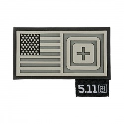 Patch pour sac SHORT STACK Gris pour athlète by 5.11 Tactical