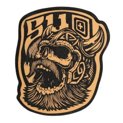 Patch broderie velcro VIKING Marron pour athlète by 5.11 TACTICAL