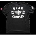 Tee-Shirt homme noir BEAR COMPLEX SAVAGE BARBELL