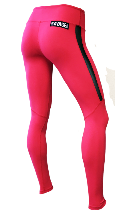 Legging femme rouge RED 2.0 SAVAGE BARBELL