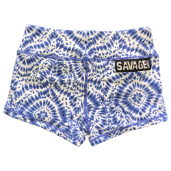 Training short bue HIPPIE for women - SAVAGE BARBELL