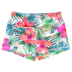 Short femme multicolore MAUI WOWIE pour athlète by SAVAGE BARBELL