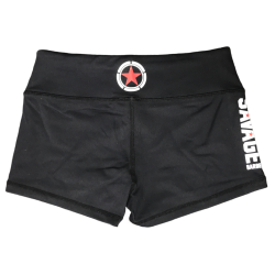 Training short black for women - SAVAGE BARBELL