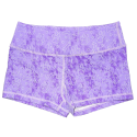Short  femme Violet PURPLE PUPPY DOG  pour athlète by SAVAGE BARBELL