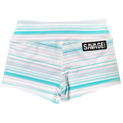 Training short mint JAWBREAKER for women - SAVAGE BARBELL