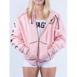 Hooded Sweatshirt Pink women – SAVAGE