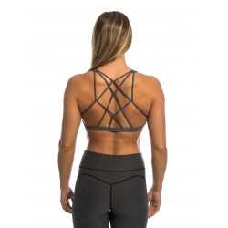 Training bra grey CINDY for women - NORTHERN SPIRIT