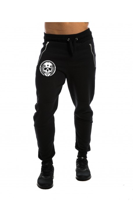 Jogging Homme noir SMALL SKULL NORTHERN SPIRIT