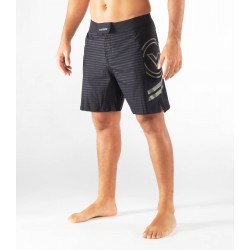 Short Homme noir camo ST13 - DIVIDED  pour athlète by VIRUS PERFORMANCE
