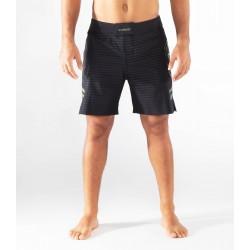 Short Homme noir camo ST13 - DIVIDED  pour athlète by VIRUS
