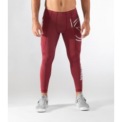 Training legging red RX7-V3 STAY COOL for men - VIRUS PERFORMANCE