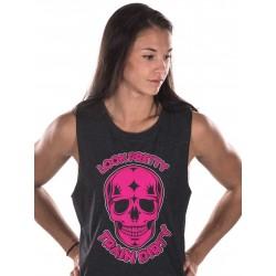Muscle tank Femme Noir Look Pretty pour Athlète - NORTHERN SPIRIT