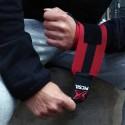 Bandes de Poignets rouges bande noire pour Athlète - PICSIL