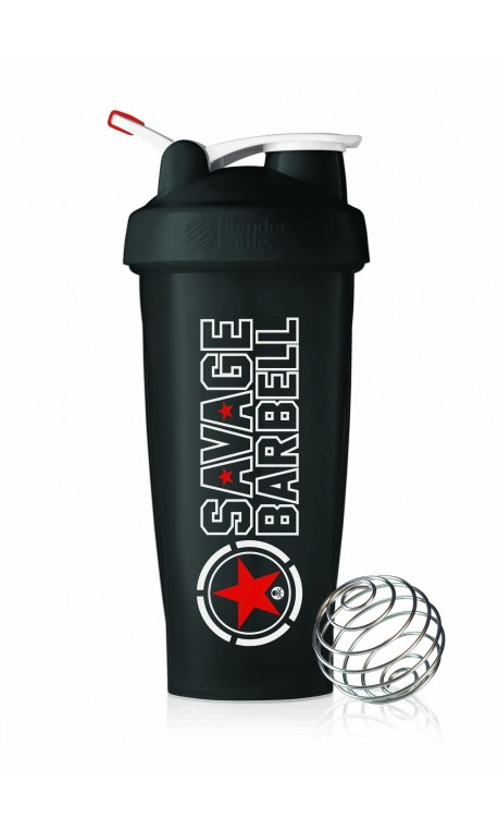 Shaker Noir pour athlète by SAVAGE BARBELL