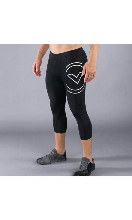 Legging de compression Homme Noir RX5 - COUPE  3/4  VIRUS