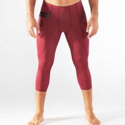 Legging compression Homme Baie foncée RX5 - COUPE  3/4 pour athlète by VIRUS