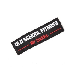 Velcro patch OLD SCHOOL FITNESS - XOOM PROJECT
