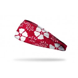 Red workout elastic headband OAHU ROCK - JUNK