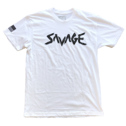 T-shirt Homme blanc OG SAVAGE  pour athlète by SAVAGE