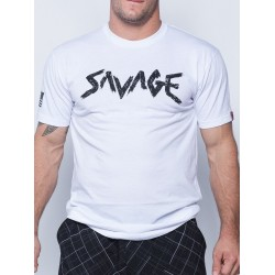 T-shirt white Og Savage for men - SAVAGE BARBELL