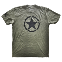 T-shirt Homme vert AMERICAN SAVAGE pour athlète by SAVAGE