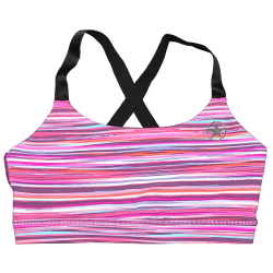 Training bra pink JAWBREAKER for women - SAVAGE BARBELL