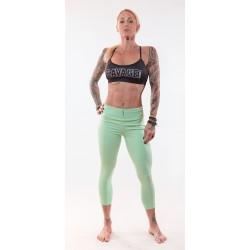 Training legging green SEA FOAM for women - SAVAGE BARBELL