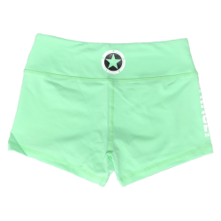 Training short green SEA FOAM for women - SAVAGE BARBELL