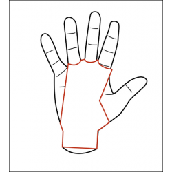 3 holes White Grips AZOR - PICSIL
