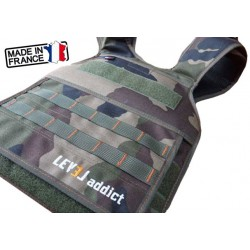 Black, Green or Camo plate carrier - LEVEL ADDICT