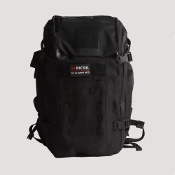 Sac de sport noir Tactical Backpack 40 L pour Athlète by PICSIL