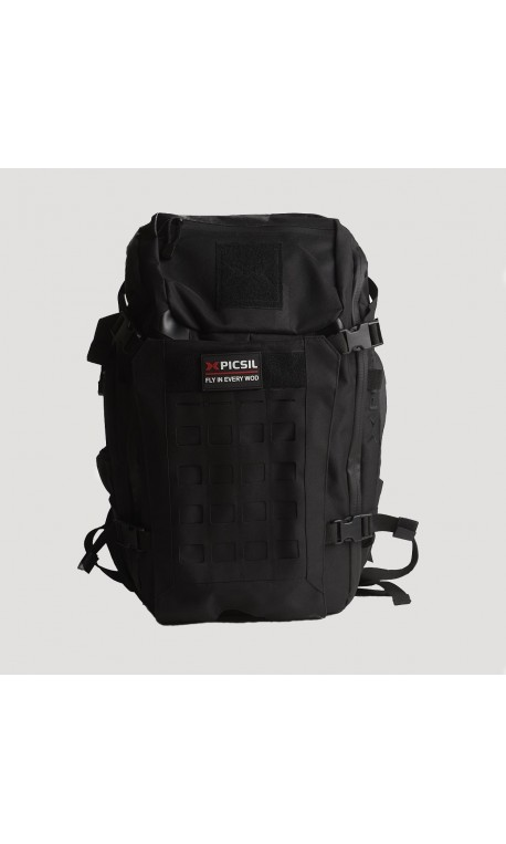 Sac de sport Tactical noir Backpack 40 L pour Athlète by PICSIL