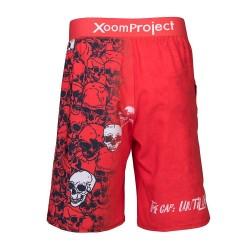 Training Ultra Light short red SKULLS for men - XOOM PROJECT
