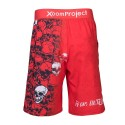 Short entraînement rouge XOOM PROJECT - SKULLS