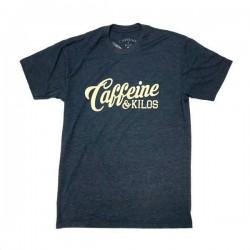 T-shirt entraînement homme Caffeine and Kilos - Script Logo T Grey