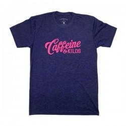T-shirt entraînement homme Caffeine and Kilos - Script Logo T storm